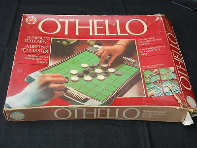 OTHELLO Vintage BOARD GAME The International Strategy Game