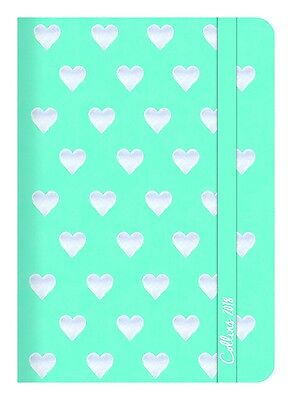 Diary 2018 Debden Plan + Note Aqua A5 Week to View PN85 22x15.5cm