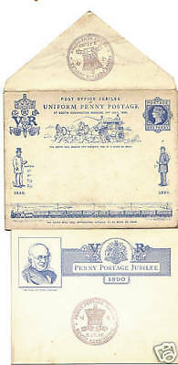2 July 1890 Penny Post Jubilee Illustrated Cover South Kensington Shs