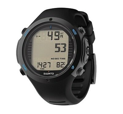 Suunto D6i Novo Dive Computer Black Elastomer With Usb EU/UK Warranty