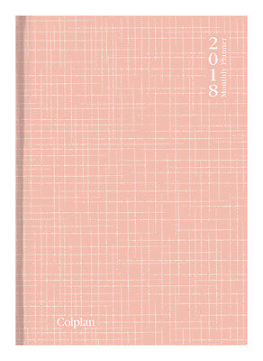 Diary 2018 Colplan Collins Pink Planner A4 Month to View 51.C33