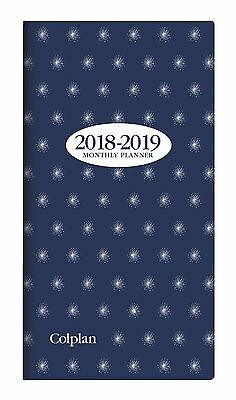Diary 2018 2019 Collins Colplan Tiffany 2 Year Planner B6/7 Month to View 11W