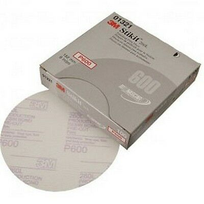 3M 3M1321 Stikit Finishing Film Disc 01321- 6in - P600- 100 discs/bx New