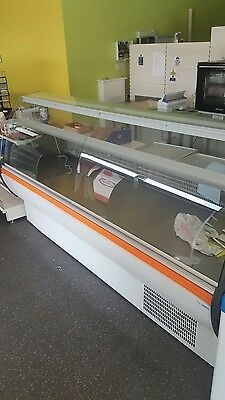 Serve Over Counter Display Fridge Meat Chiller 201cm (6.6 feet) ID:T2240