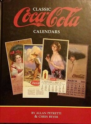 CLASSIC COCA-COLA CALENDAR ID $$$ GUIDE COLLECTOR'S BOOK Hardback