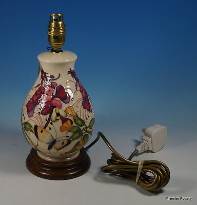 A MOORCROFT Stunning Family Through Flowers 7/7 Table Lamp 1st Quality RRP £435