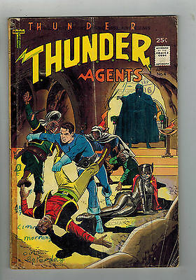 THUNDER AGENTS COMIC No. 4 from 1966 - Tower Comics
