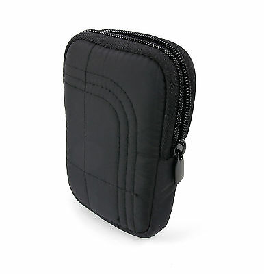 Padded Case / Pouch with Belt Loop in Black for Mio Slice