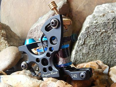 Custom Tattoo Machine  Colour Packer No15 -Used Spare Parts-Frame- Ink-Coils