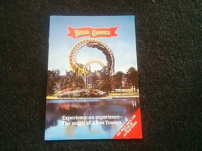 Alton Towers  programme 1984 not poster