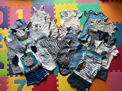 Large Bundle Of Boys Summer Clothes 6-9 Months (mothercare/miniclub/next/debs)