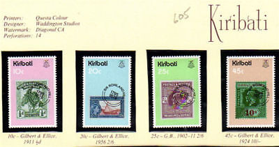 Kiribati 1979 Sir Rowland Hill Centenary Set Of All 4 Mnh
