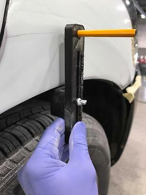Auto Body and paint body line marker tool