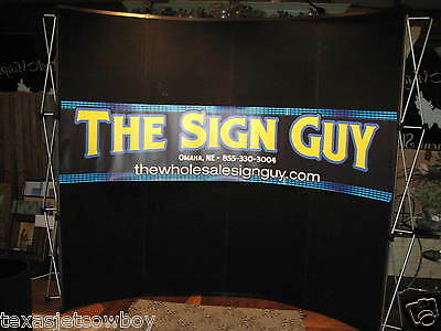 Trade Show Booth display  Pop Up Kit On Wheels W/Spotlights  Dallas Texas