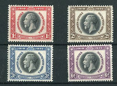South West Africa 1935 Silver Jubilee SG88/91 MNH