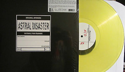 "COIL ""Astral Disaster"" LP Yellow Vinyl SEALED current 93 throbbing gristle"