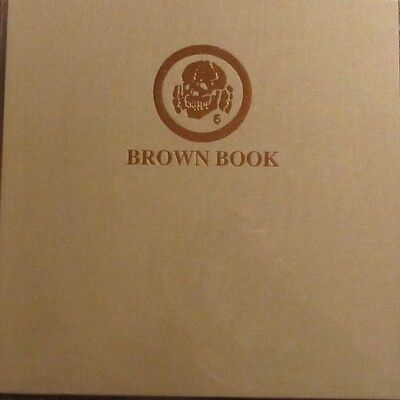 "DEATH IN JUNE ""The Brown Book"" LP Brown Vinyl UNPLAYED coil current 93"