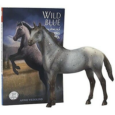 Breyer 6136 Wild Blue/ Classics Horse And Book Set NEW
