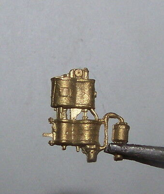 TT lost wax Brass Westinghouse cross-compound air compressor for steam loco