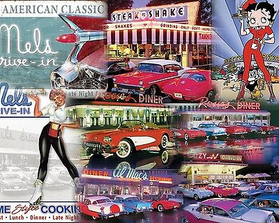 15 Different Classic Diner Style Sign Set $9.95 Ea. Free Shipping You Get All 15