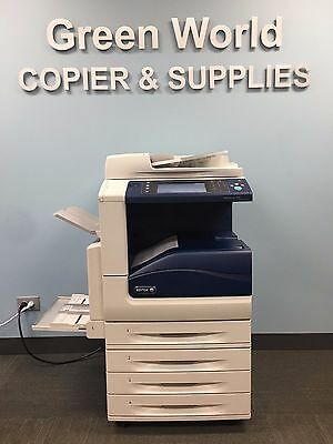 Xerox WorkCentre 7535 Color Multifunction Copier/Printer with total meter 284k