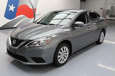 2016 Nissan Sentra  2016 NISSAN SENTRA S SEDAN AUTOMATIC CRUISE CTRL 10K MI #259099 Texas Direct