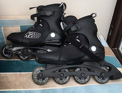 K2 Skates Kinetic 78 Men Inline With Accessories Size 9