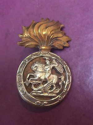 Northumberland Fusiliers - Cap Badge - Victorian / Edwardian - Lugs on Rear