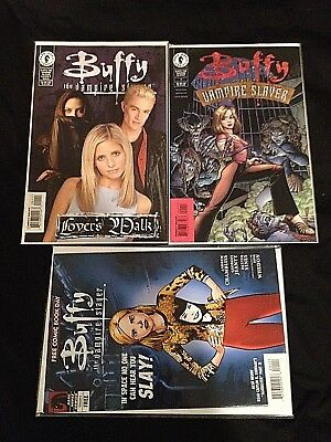 Buffy the Vampire Slayer #1 Lover's Walk FCBD Dark Horse