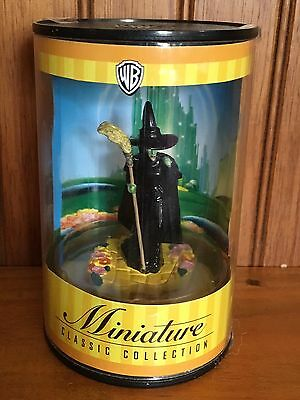 NEW Wizard of Oz Miniature Classic Collection Wicked Witch Warner Brothers RARE
