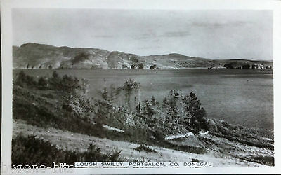 LOUGH SWILLY PORTSALON CO DONEGAL POSTCARD 1930's IRELAND