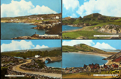 16 x DONEGAL POSTCARDS FROM 1930's IRISH POSTCARD IRELAND DERRY PUBLISHER PK 11