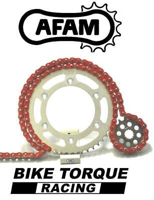 Triumph 675 Street Triple / R 07-12 AFAM Upgrade Red Chain And Sprocket Kit