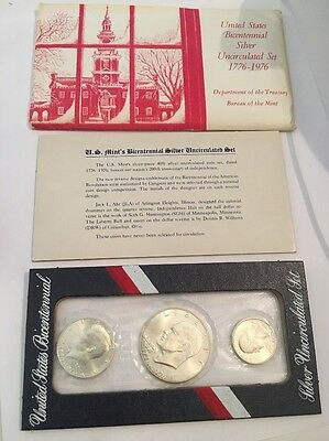 1976 United States Bicentennial Silver Uncirculated Set