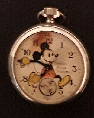 Two Mickey Mouse Watches Needing Repair.