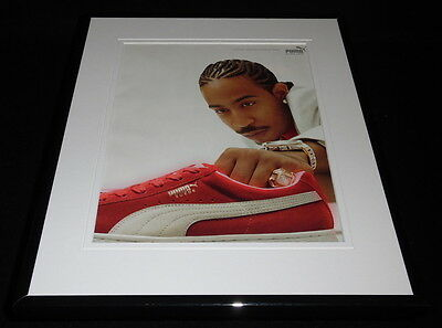 Ludacris 2006 Puma Suede Framed 11x14 ORIGINAL Vintage Advertisement