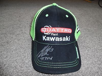 Signed Quartto Kawasaki Isle Of Man Tt  Rider James Hillier Brand New With Tags