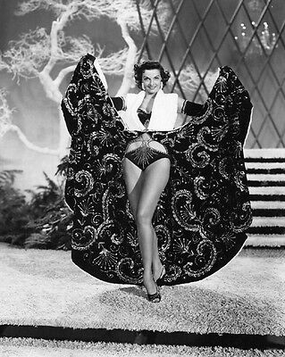 1954 Film Actress JANE RUSSELL Glossy 8x10 Photo Print 'The French Line' Poster