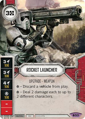 Rocket Launcher - Legendary - Spirit of Rebellion - Star Wars Destiny