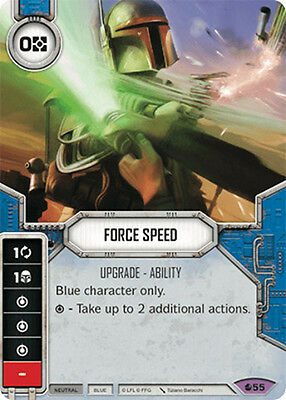 Force Speed - Legendary - Spirit of Rebellion - Star Wars Destiny