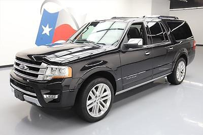 2015 Ford Expedition Platinum Sport Utility 4-Door 2015 FORD EXPEDITION EL PLATINUM ECOBOOST SUNROOF NAV!! #F49983 Texas Direct