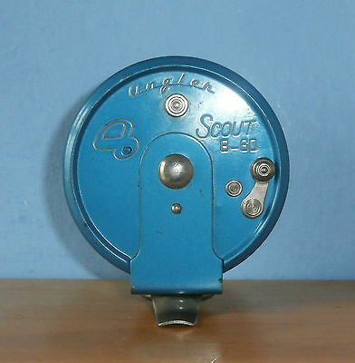 Angler Scout 8-60 - Sidecast centrepin Fishing Reel - Japan 1960s
