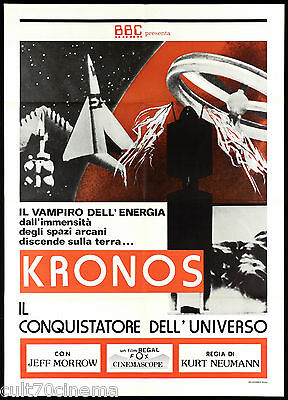 Kronos Il Conquistatore Dell'universo Manifesto Cinema Sfi-Fi Movie Poster 2F