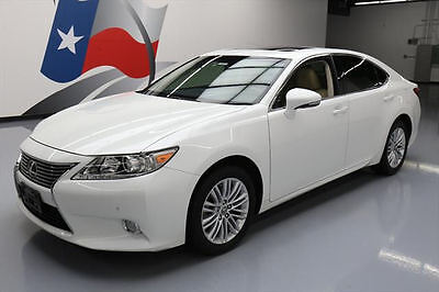 2013 Lexus ES Base Sedan 4-Door 2013 LEXUS ES350 LUXURY SUNROOF NAV REAR CAM 59K MILES #058550 Texas Direct Auto
