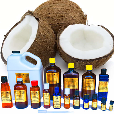 Coconut Oil - 100% Pure - Multiple Sizes from 3ml to 1 Gallon