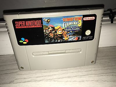 Donkey Kong country 3 Super Nintendo snes game
