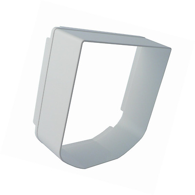 SureFlap Microchip Cat Flap Tunnel Extender in White FAST FREE DELIVERY