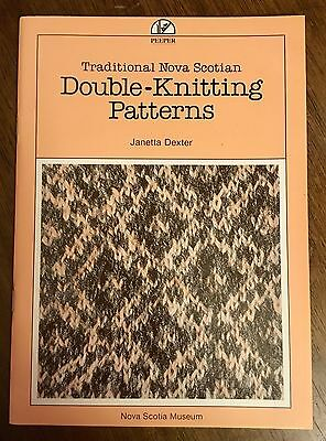 Nova Scotia Traditional Double Knitting patterns booklet