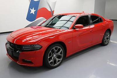 2015 Dodge Charger  2015 DODGE CHARGER R/T PLUS HEMI LEATHER NAV 20'S 37K #862937 Texas Direct Auto