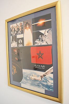 NASA Space Shuttle STS-51-D Flown Flag of Morocco
